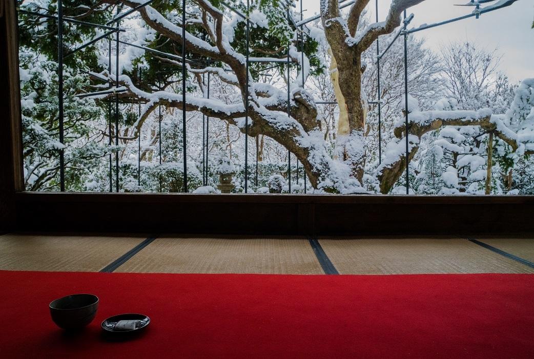 宝泉院の雪景色_e0363038_13570117.jpg