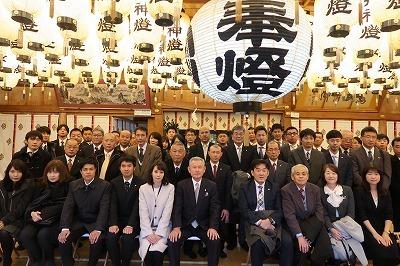 平成31年 始業式、梶岡建設・梶和会合同新春会を行いました _f0151251_10445374.jpg