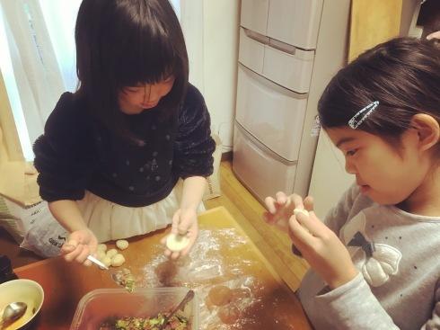 冬休み最終日に、手作り水餃子_d0122797_20222129.jpg