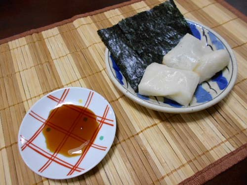 ロール白菜&海苔巻餅_f0019498_16504890.jpg