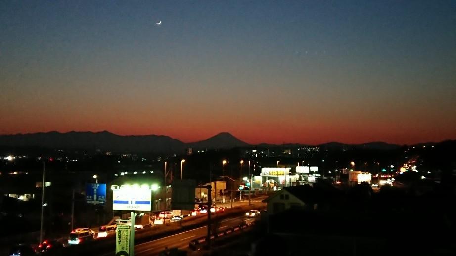 1/8  今日の富士山_b0042308_19402832.jpg