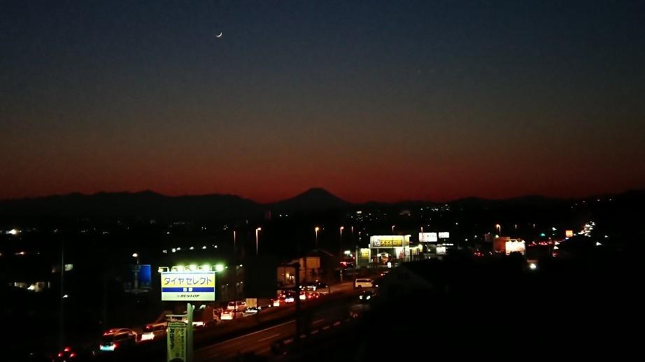 1/8  今日の富士山_b0042308_19402845.jpg