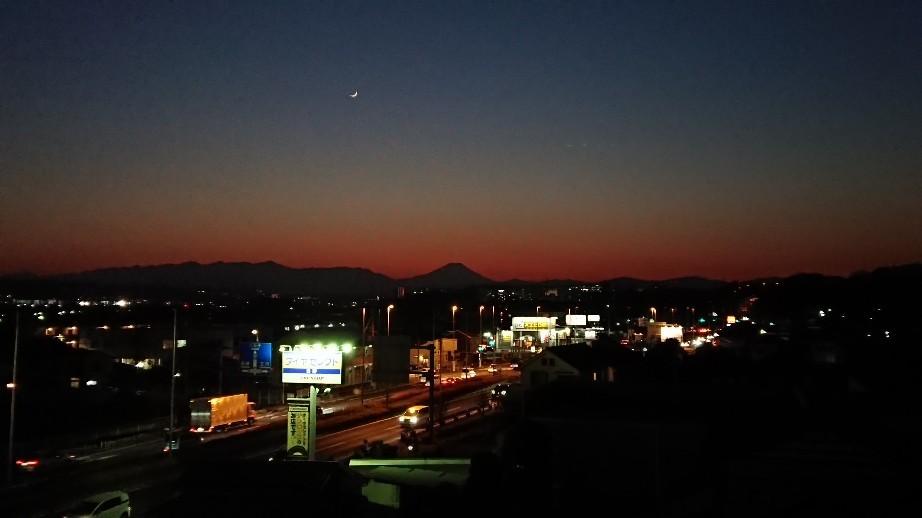 1/8  今日の富士山_b0042308_19402905.jpg