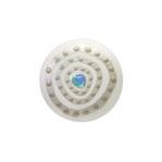 身につける漆 漆のアクセサリー 蒔絵のブローチ 丸5 銀の迷宮 ミルキーホワイト色 坂本これくしょんの艶やかで美しくとても軽い和木に漆塗りのアクセサリー URUSHI SAKAMOTO COLLECTION wearable URUSHI accessories brooch Platinum Labyrinth Milky White color 使いやすいふっくらとした丸いフォルム、銀箔下地の上品で奥行き感のある白い大理石調の格調あるホワイトに奥深くへと誘いこまれるような人気のデザインのプラチナ箔と螺鈿蒔絵が印象的、ペンダントトップとしても使えます。 #漆のアクセサリー #軽いブローチ #ブローチ #蒔絵のブローチ #プラチナ箔 #銀の迷宮 #ミルキーホワイト #accessories #jewelry #brooches #swirl #Labyrinth #Platinum #MilkyWhite #Makie #漆塗り #軽さを実感