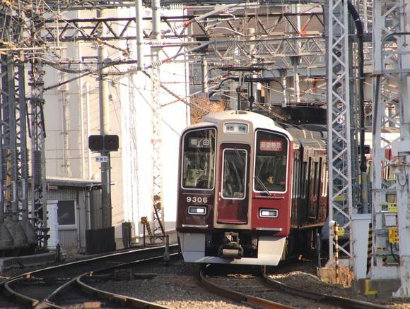 阪急9306F 通勤特急 _d0202264_9504632.jpg