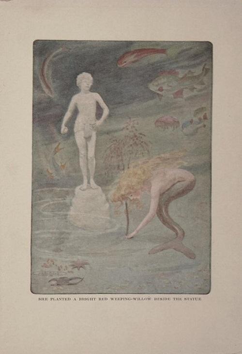 Maria L. KirkとE.A.Lehmann画の人魚姫_c0084183_1017969.jpg