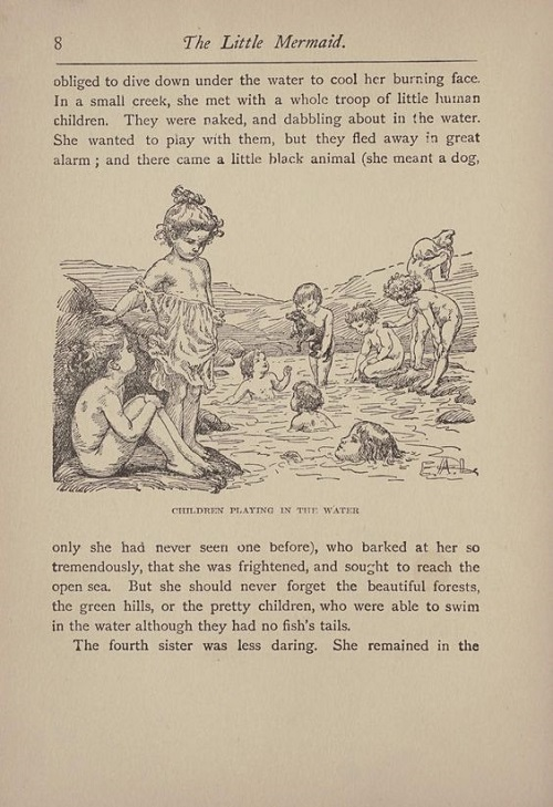 Maria L. KirkとE.A.Lehmann画の人魚姫_c0084183_10232827.jpg