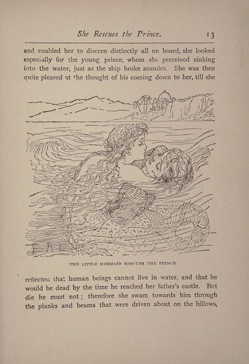Maria L. KirkとE.A.Lehmann画の人魚姫_c0084183_10245746.jpg