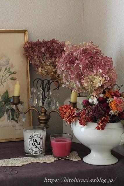冬はドライフラワーで部屋を飾る。_f0374092_17221046.jpg