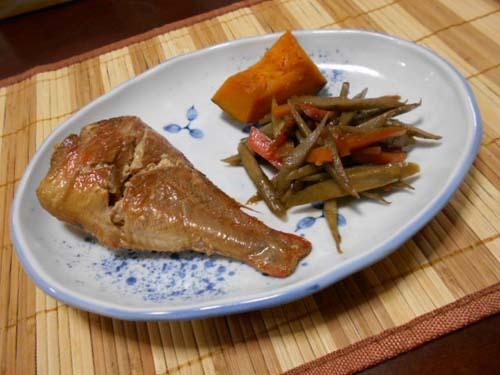 干し柿&赤魚の煮付け_f0019498_19431967.jpg