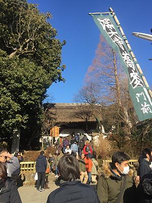 新年のご挨拶と深大寺での初詣_f0170331_13472082.jpg