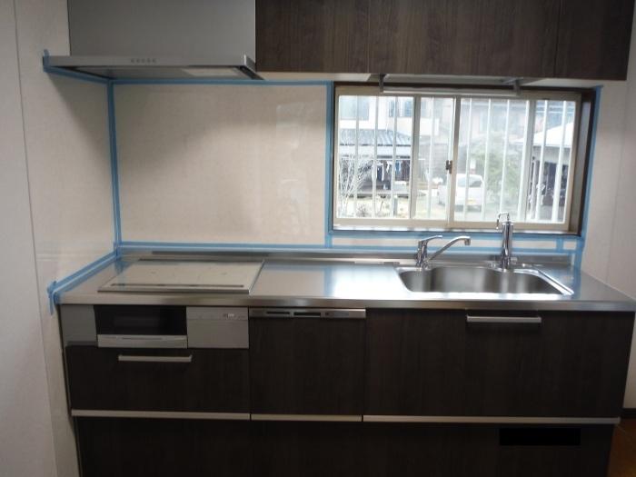 キッチン取替え ~ キッチン取替えの完成。_d0165368_06290398.jpg