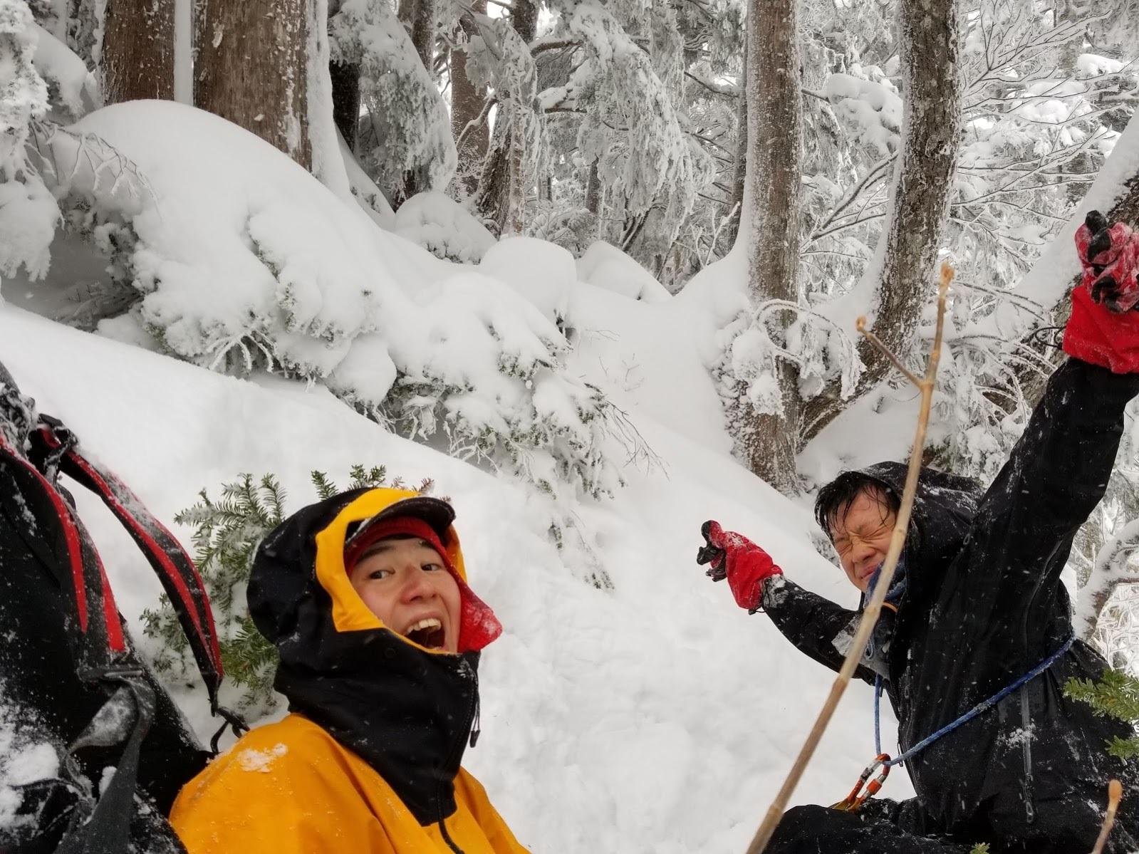 冬合宿「笠ヶ岳西尾根」  ~おつかれ!~_d0237801_23391313.jpg