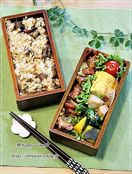 肉野菜味噌炒め弁当♪_f0348032_09395595.jpg