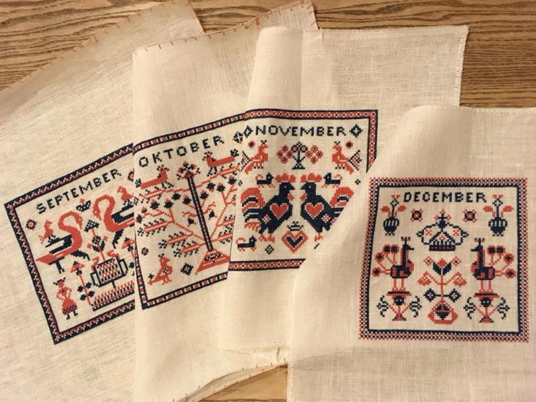 フレメ  カレンダー 1965    December 完成_a0374562_17124735.jpg
