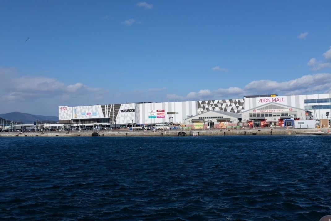 海に浮かぶイオンモール いわき小名浜港_e0143883_05330986.jpg