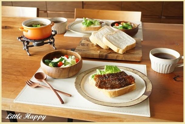 焼き立てパンで休日ブランチ_d0269651_09562377.jpg