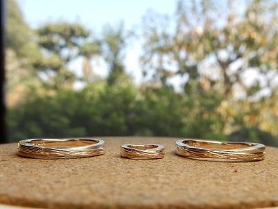 家族の指輪(+ベビーリング)オーダーメイド | 岡山_d0237570_15070597.jpg