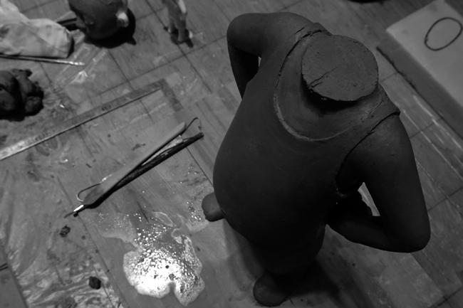 粘土模型3日目_b0052471_19044657.jpg
