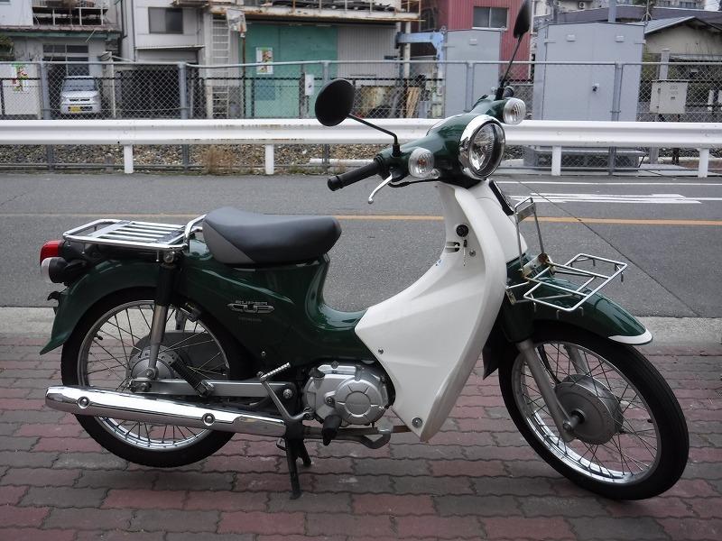 スーパーカブ110中古車 JA07緑入荷!_e0157602_11293766.jpg
