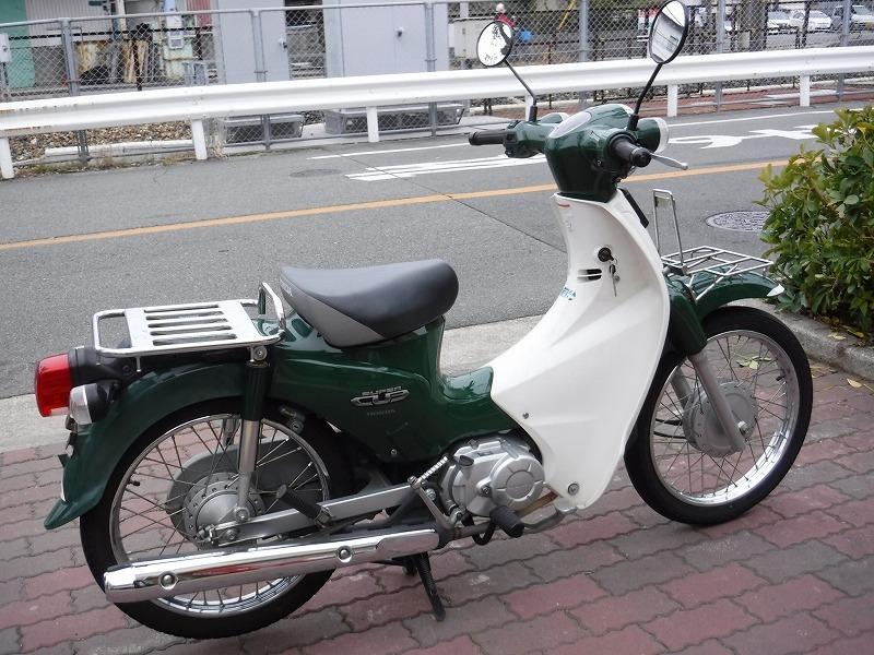 スーパーカブ110中古車 JA07緑入荷!_e0157602_11310058.jpg