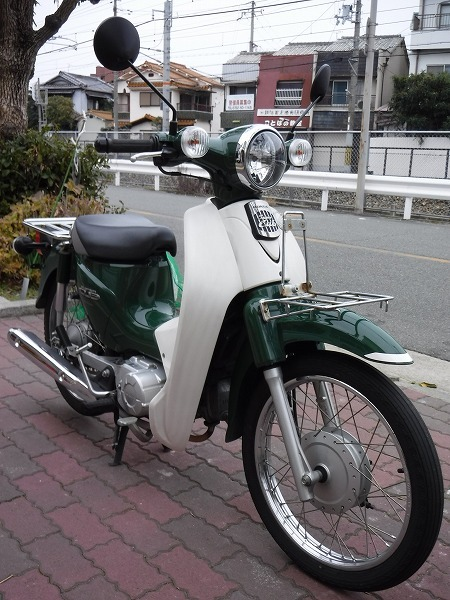 スーパーカブ110中古車 JA07緑入荷!_e0157602_11310068.jpg