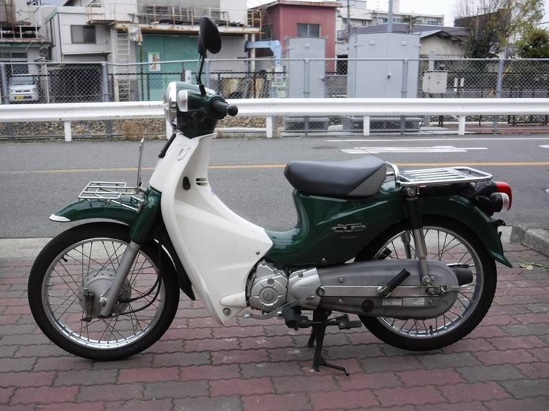 スーパーカブ110中古車 JA07緑入荷!_e0157602_11310088.jpg