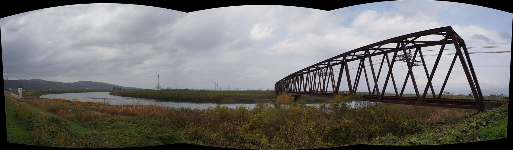 九頭竜川と「えちぜん鉄道三国芦原線 」_f0159784_22274803.jpg