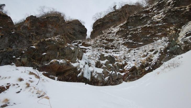 三叉峰ルンゼと南沢小滝_e0231387_20103525.jpg