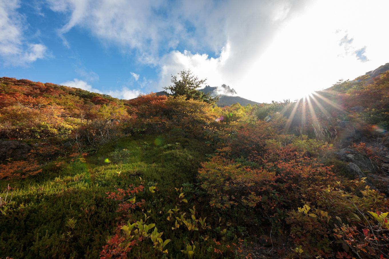 紅葉始まる秋の「那須岳」姥ヶ平へ_c0369219_17064952.jpg