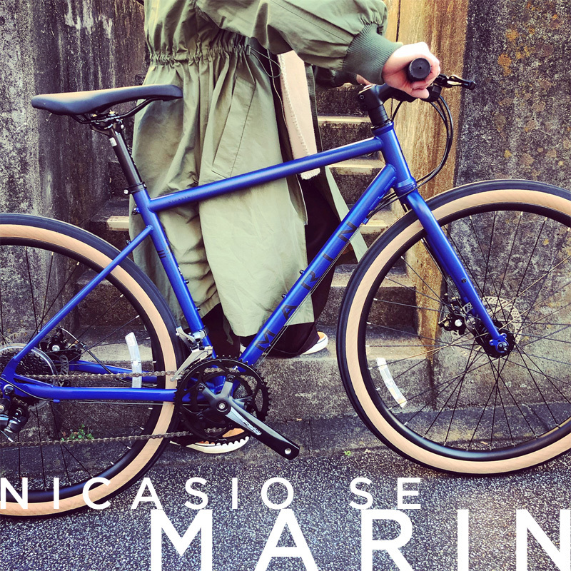 2019 MARIN 「NICASIO SE」マリン ニカシオ WTB アーバン おしゃれ自転車 オシャレ自転車 自転車女子 自転車ガール クロスバイク ツーリング_b0212032_19251861.jpeg