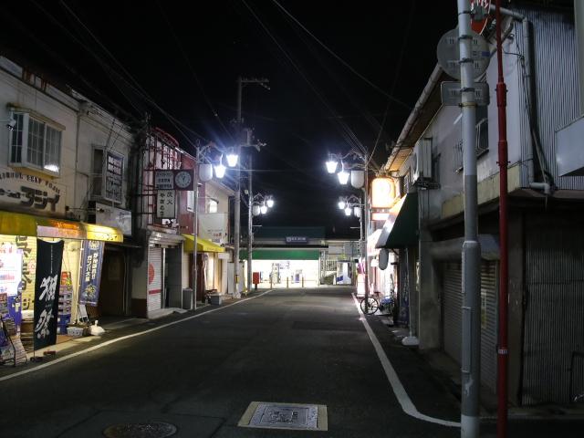 阪急箕面線 終電後・_d0202264_4142481.jpg