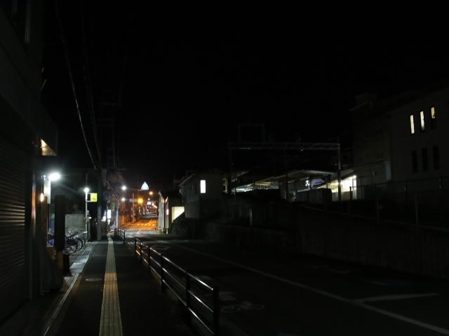 阪急箕面線 終電後・_d0202264_4155117.jpg