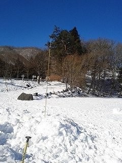 雪がないのにスノーシュー_e0064783_22374851.jpg