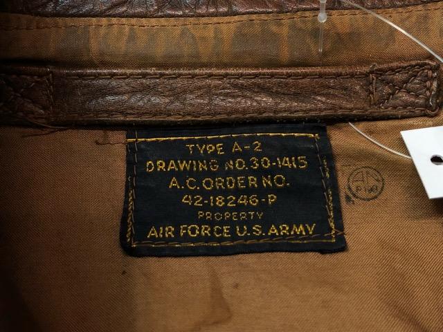 1月16日(水)マグネッツ大阪店ヴィンテージ入荷!!#1 U.S.Military編!U.S.A.A.F A-2 FlightLeatherJKT&NavigationalBriefCase!!_c0078587_1919145.jpg