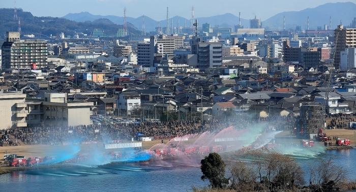 「火の用心」決意込め 福山で消防出初め式 そのⅠ_a0140608_08515600.jpg