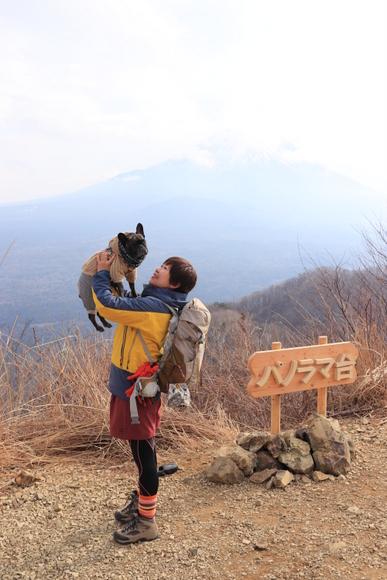 精進湖~パノラマ台ライトトレッキング_e0234741_16532153.jpg