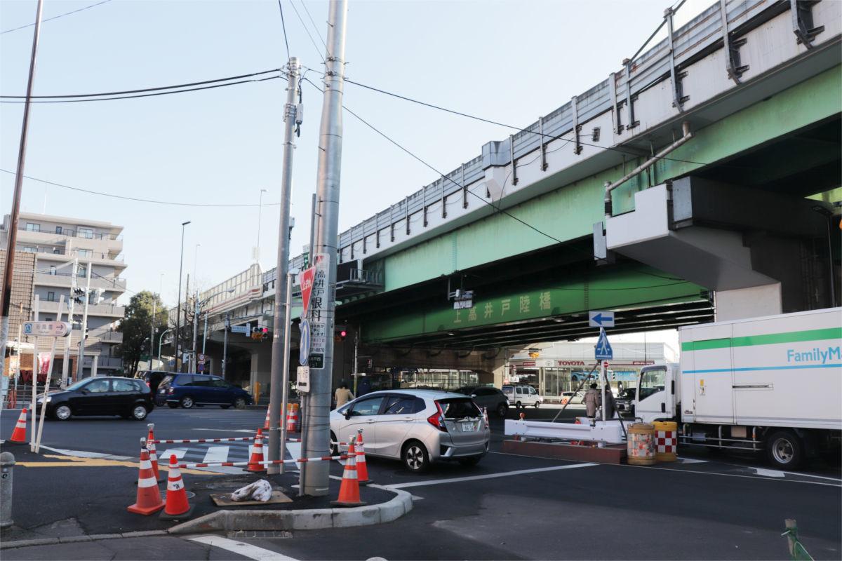 放射5号線(久我山)と中の橋交差点 進捗状況2019年1月_a0332275_00150272.jpg