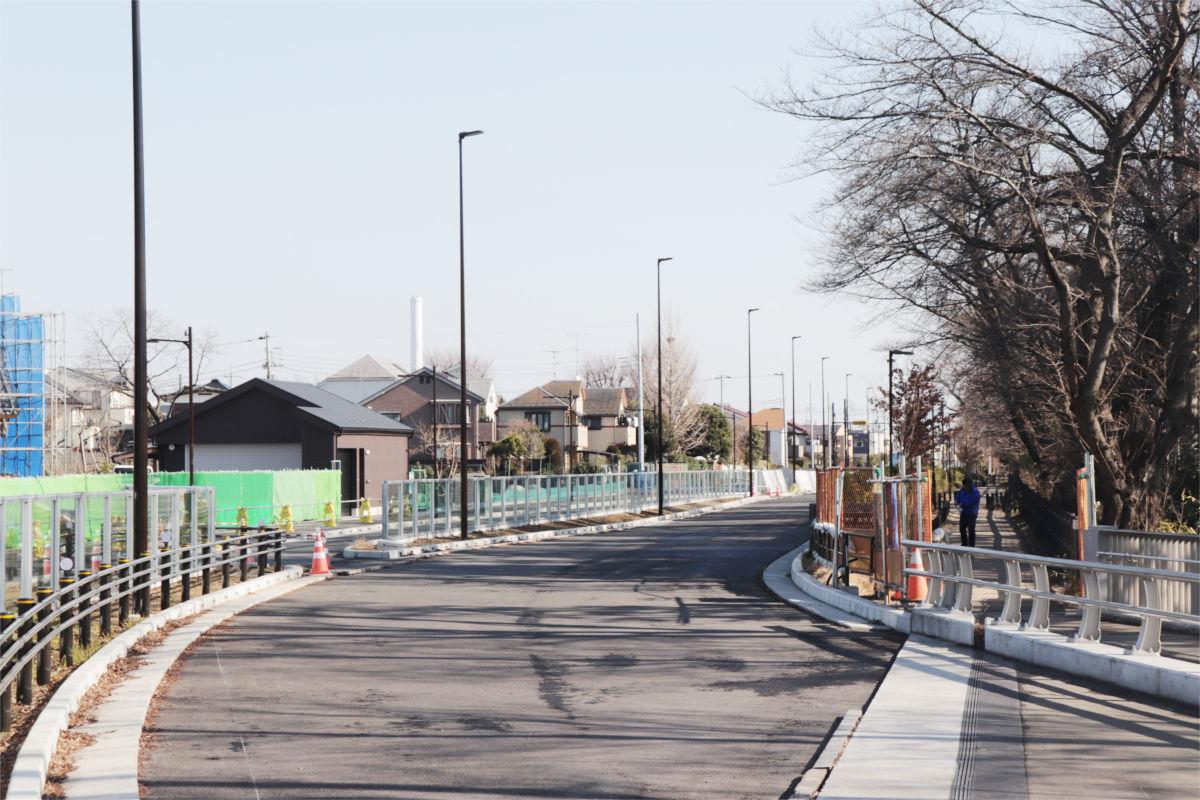 放射5号線(久我山)と中の橋交差点 進捗状況2019年1月_a0332275_00302655.jpg