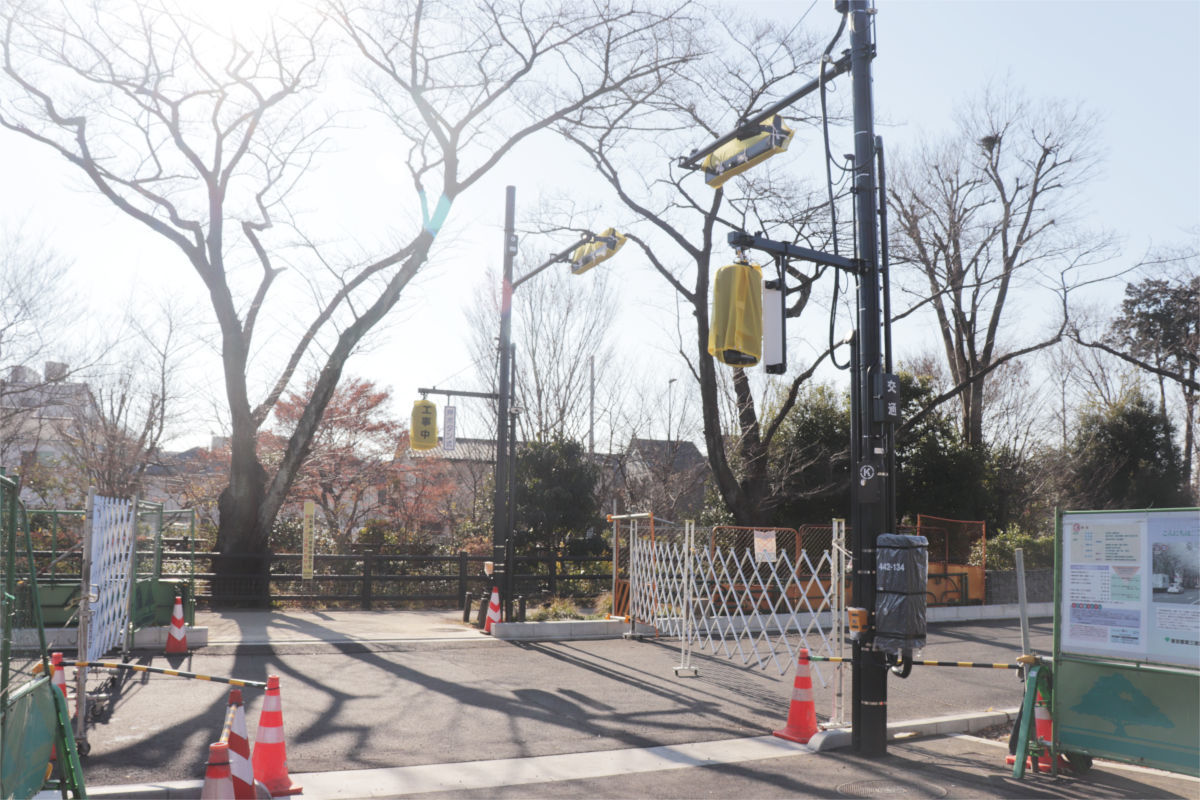 放射5号線(久我山)と中の橋交差点 進捗状況2019年1月_a0332275_00413801.jpg