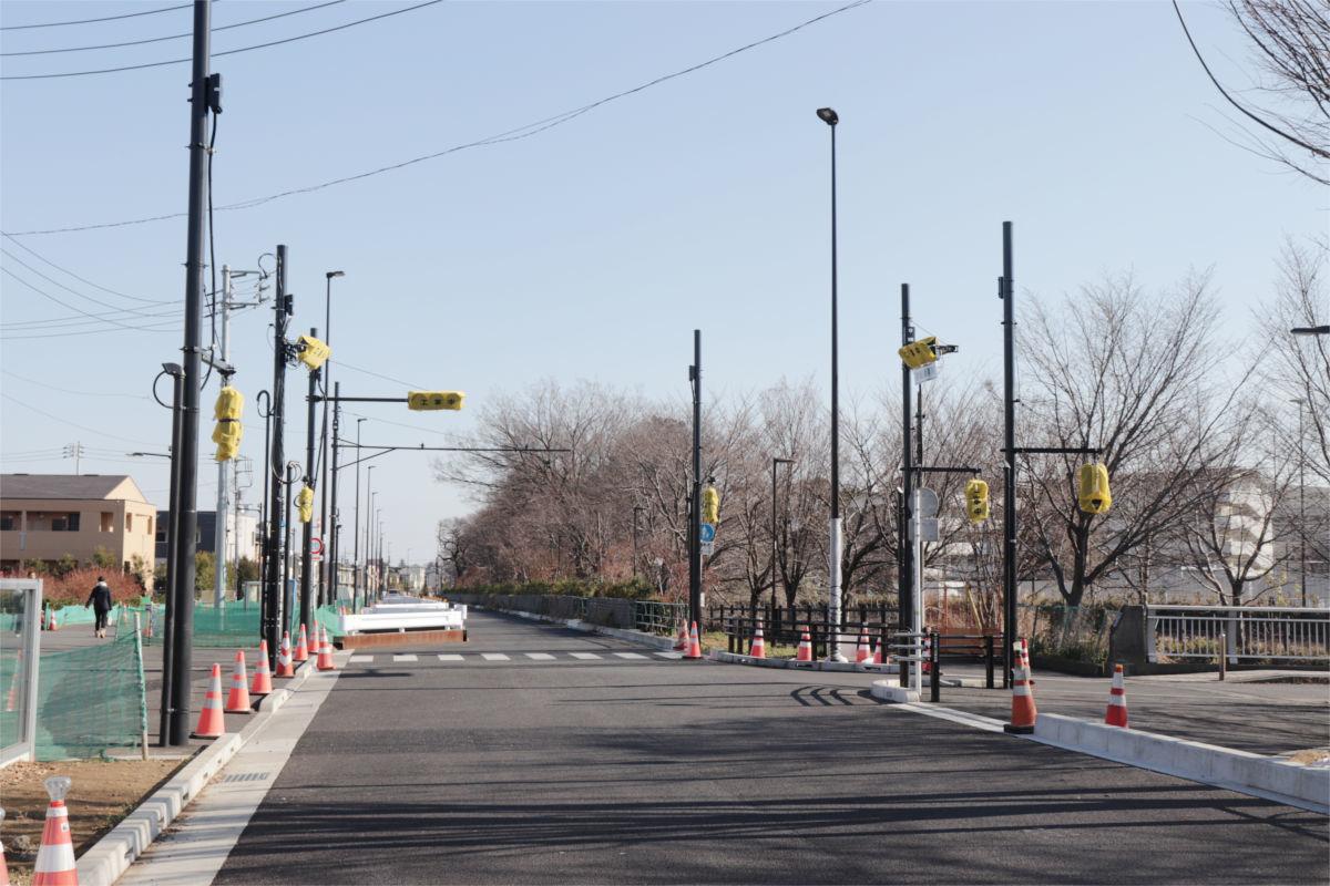 放射5号線(久我山)と中の橋交差点 進捗状況2019年1月_a0332275_00502215.jpg