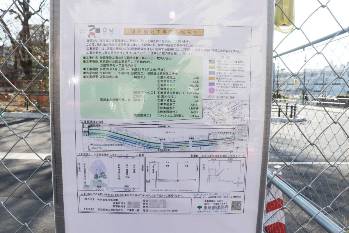 放射5号線(久我山)と中の橋交差点 進捗状況2019年1月_a0332275_00525571.jpg