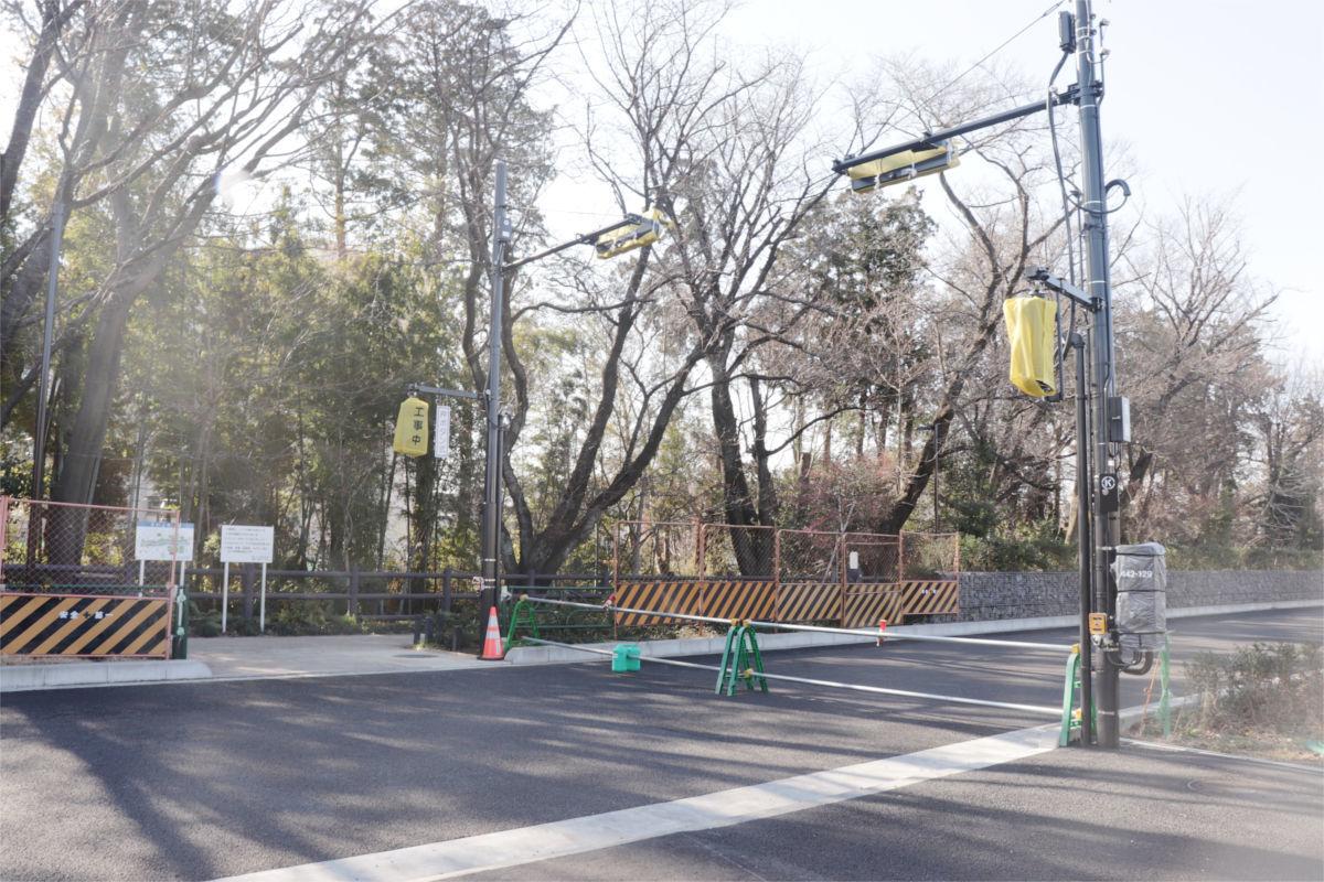 放射5号線(久我山)と中の橋交差点 進捗状況2019年1月_a0332275_00564317.jpg