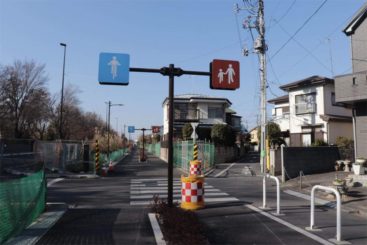 放射5号線(久我山)と中の橋交差点 進捗状況2019年1月_a0332275_01135020.jpg