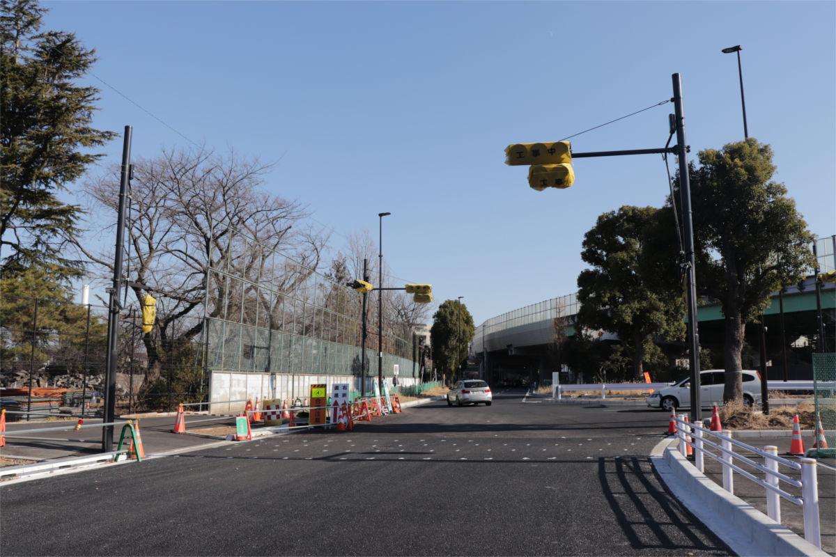 放射5号線(久我山)と中の橋交差点 進捗状況2019年1月_a0332275_01153262.jpg