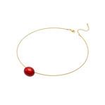 身につける漆 漆のアクセサリー ペンダント あけの実 ポピーレッド色 オメガラウンドコード 坂本これくしょんの艶やかで美しくとても軽い和木に漆塗りのアクセサリー SAKAMOTO COLLECTION wearable URUSHI accessories pendants nuts Poppy red color omega necklace cord 小さな小さな玉子のような可愛らしい形をの軽くてつけ心地のよいチョーカータイプ、色鮮やかに咲く春の花をイメージしたパッと表情を明るく見せてくれるレッドカラー、ポロっとこぼれるような雰囲気で印象的なアイテムです。 #漆のアクセサリー #赤いペンダント #軽いペンダント #漆のペンダント #あけの実 #ポピーレッド色 #オメガラウンドコード #チョーカー #還暦 #お祝い #accessories #jewelry #Pendants #accessories #jewelry #pendants #necklace #poppyred #RedPendant #SakamotoCollection #人気のペンダント