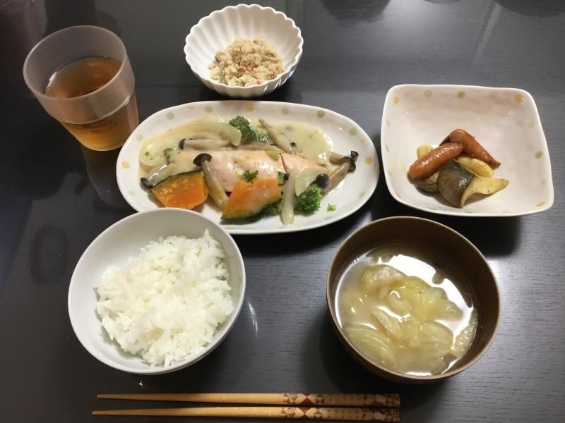 クリーム 煮 鮭 鮭とアスパラとエリンギのクリーム煮 レシピ・作り方