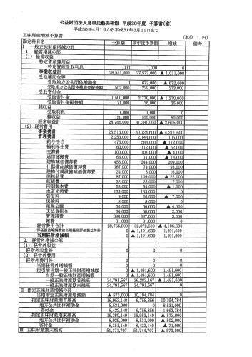 平成30年度 事業計画 予算書_f0197821_17495221.jpg