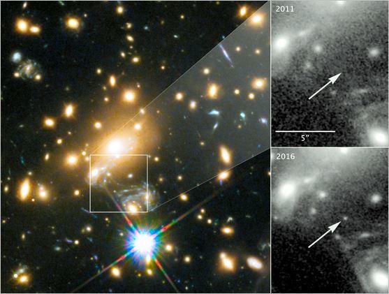 90億光年先の星、観測成功 過去最も遠く_c0011649_04115179.jpg
