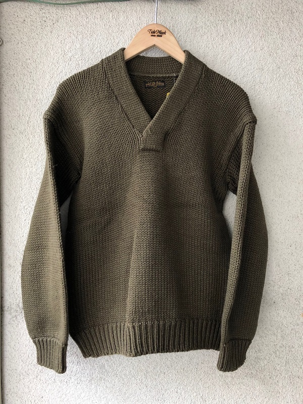 WWⅡ U.S.A.A.F. A-1 V Neck Sweater_c0146178_13592750.jpg